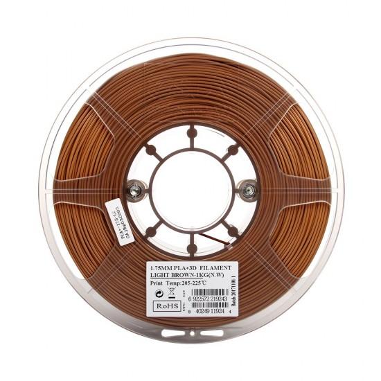 1.75mm light brown PLA+ filament