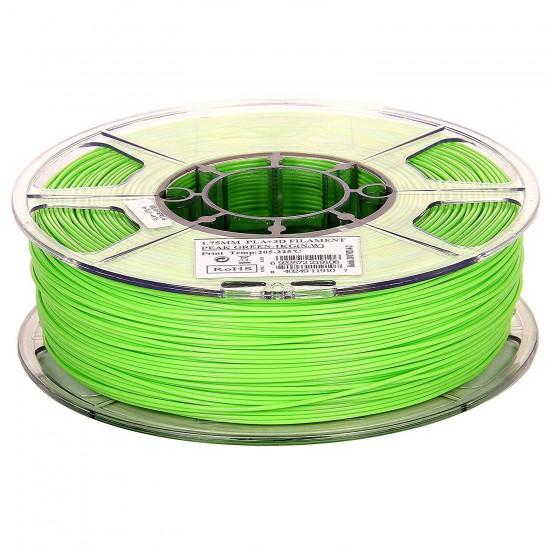 1.75mm peak green PLA+ filament