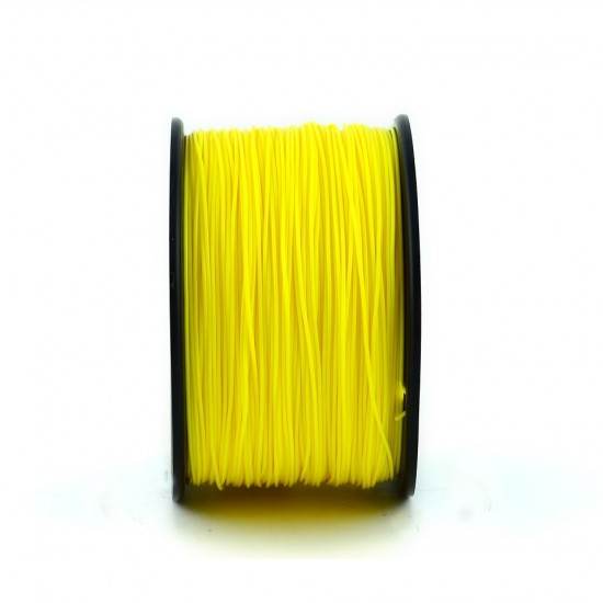 1.75mm dark yellow ABS filament