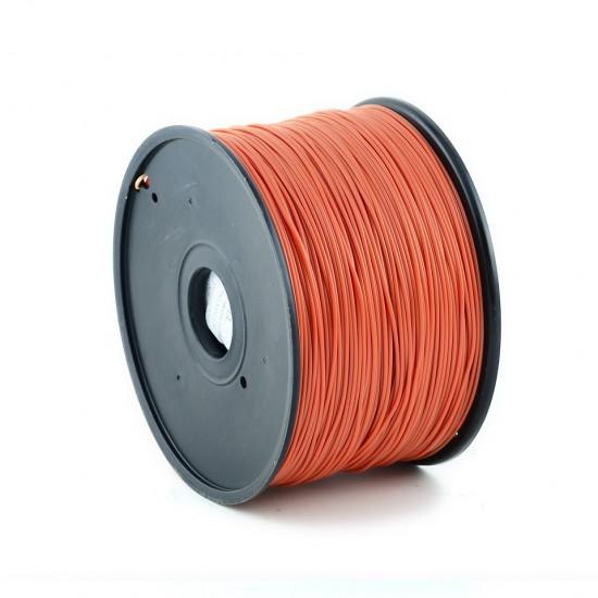 1.75mm dark orange ABS filament