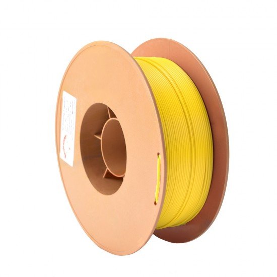 1.75mm fluorescent yellow ABS filament