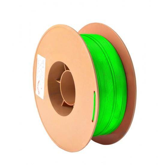 1.75mm fluorescent green ABS filament