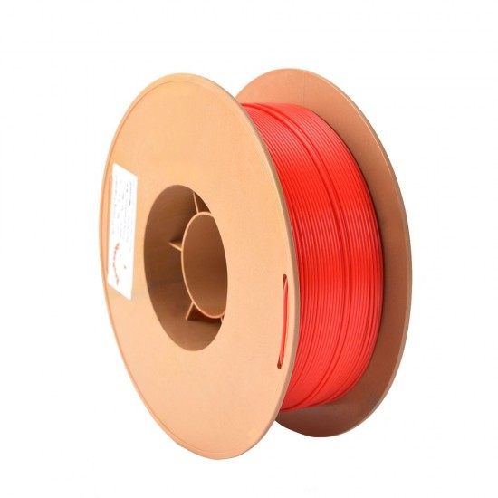 1.75mm fluorescent red ABS filament