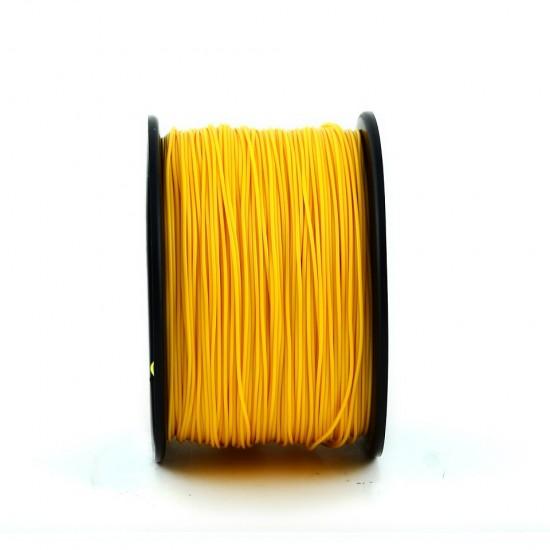 1.75mm golden yellow ABS filament