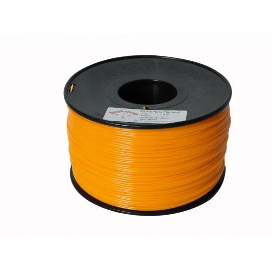 1.75mm orange ABS filament