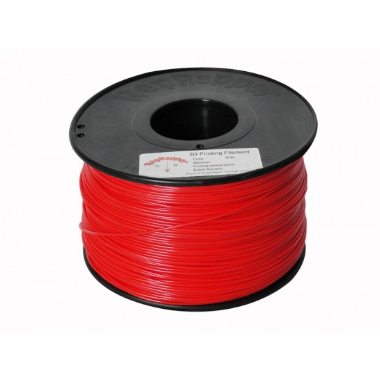 1.75mm red ABS filament