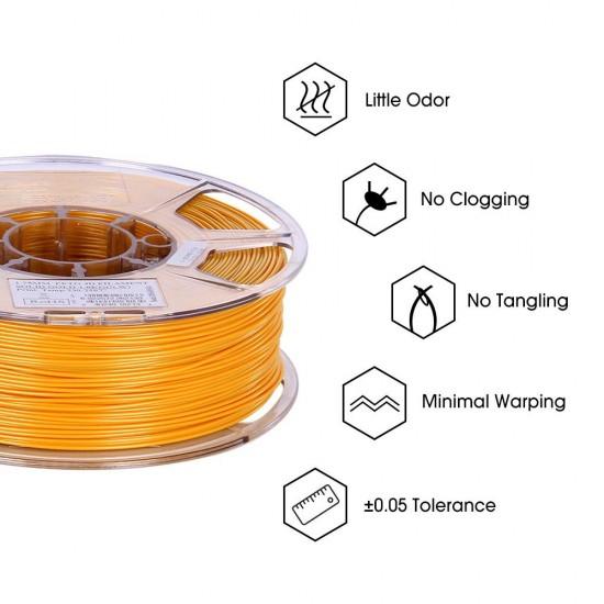 1.75mm solid gold PETG filament