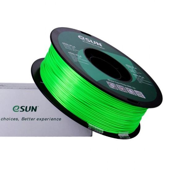 1.75mm groen eSilk PLA filament