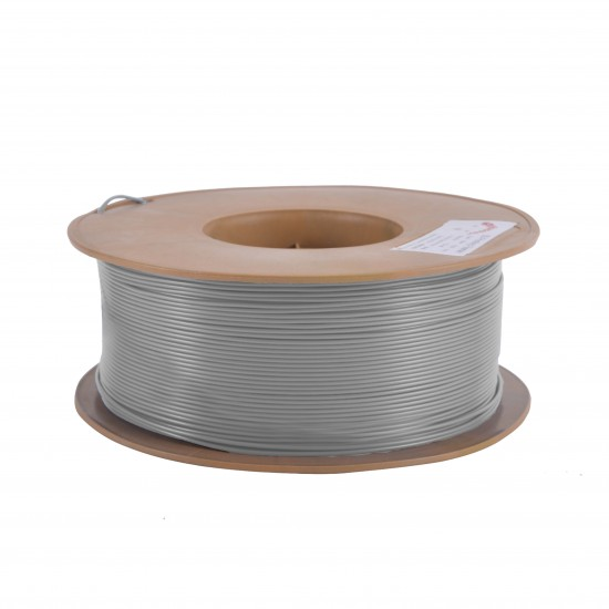 1.75mm shiny grey PLA filament