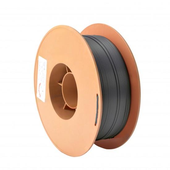 1.75mm shiny grey PLA filament