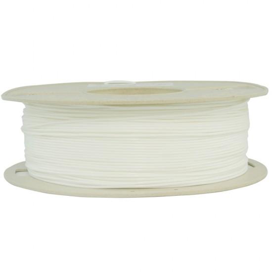 1.75mm white PLA filament