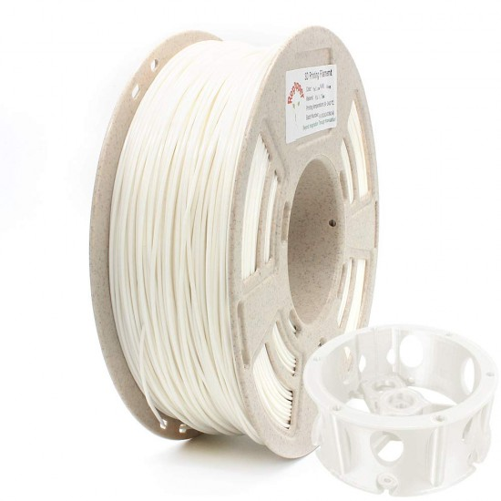 1.75mm white ABS filament