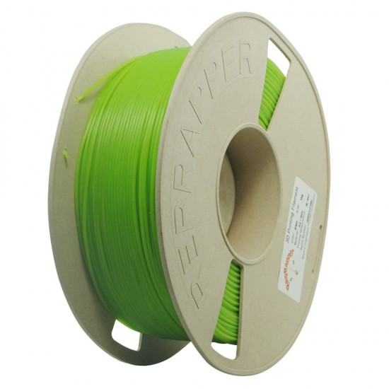 1.75mm green PLA filament
