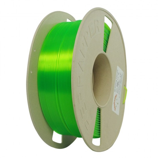 1.75mm fluorescent green PLA filament