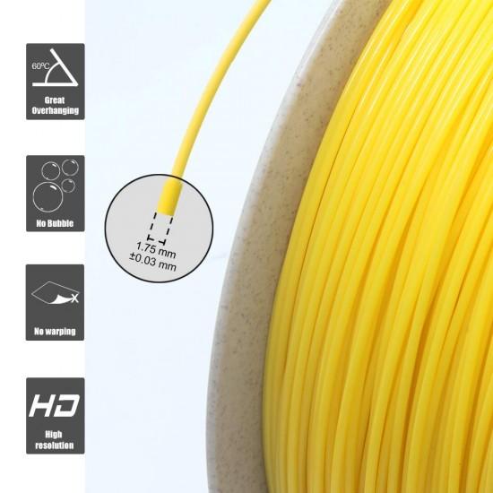 1.75mm geel PLA filament