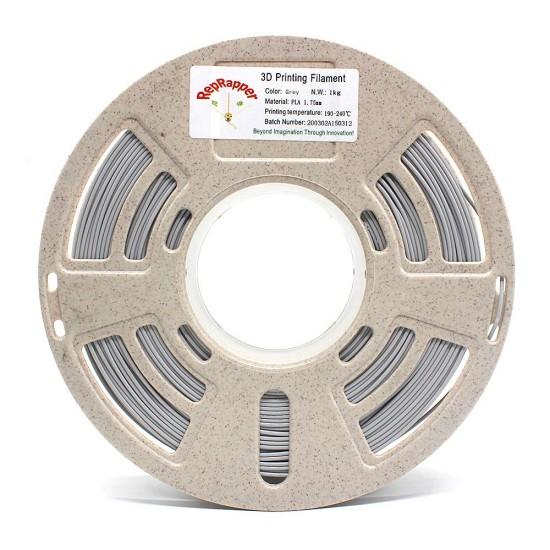 1.75mm mat grey PLA filament