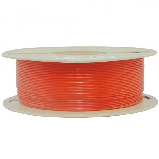 1.75mm fluorescent red PLA filament