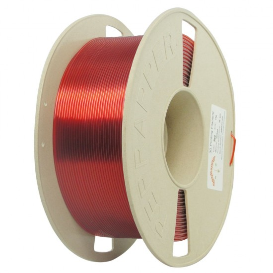 1.75mm red PETG filament