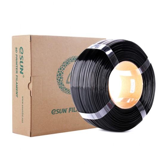 1.75mm solid black PETG Re-filament