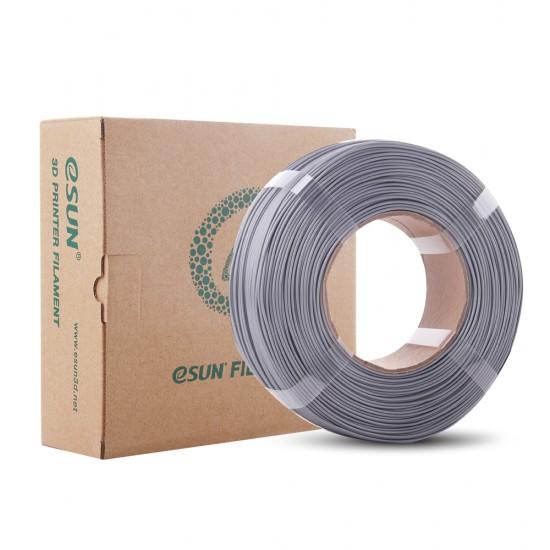 1.75mm silver PLA+ Re-filament