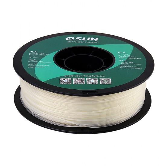 1.75mm naturel PLA filament eSun