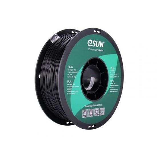 1.75mm black PLA+ filament