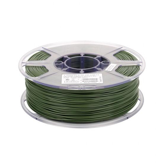 1.75mm olive green PLA+ filament