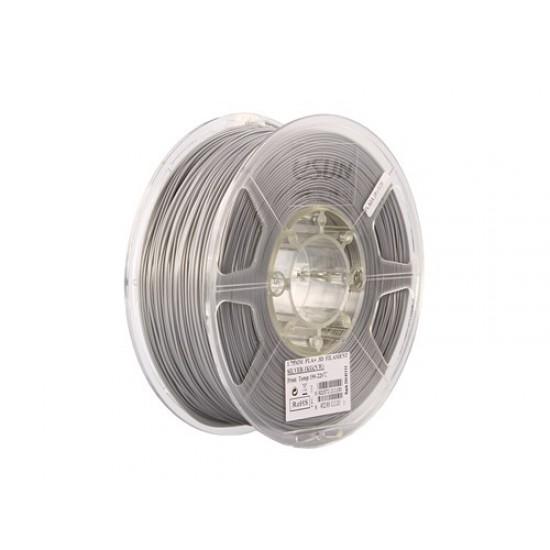 1.75mm zilver PLA+ filament