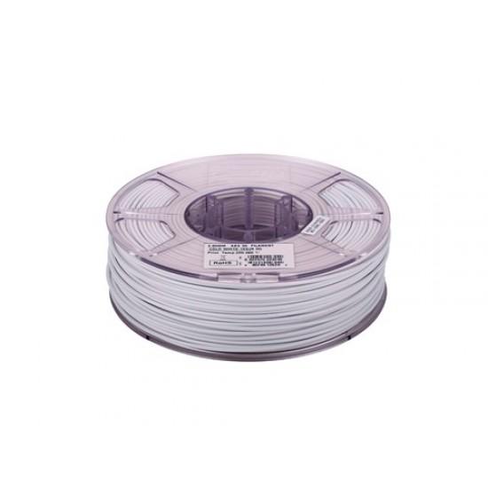 1.75mm koud wit ABS filament eSun