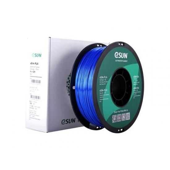 1.75mm blauw eSilk PLA filament