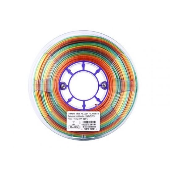 1.75mm regenboog eSilk PLA filament