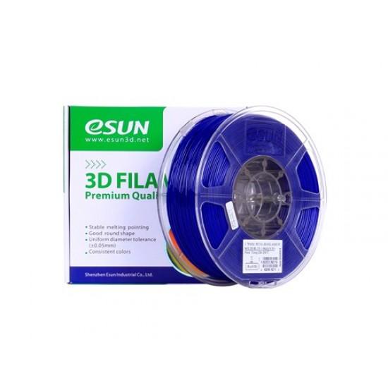 1.75mm solid blue PETG filament