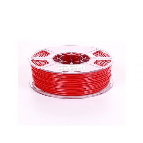 1.75mm solid red PETG filament