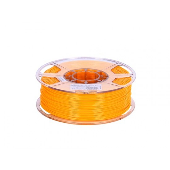 1.75mm solid yellow PETG filament