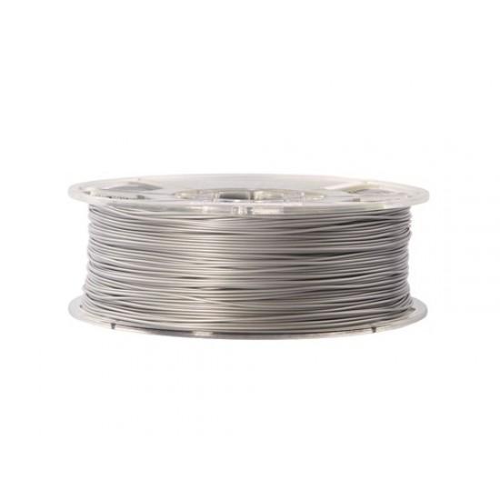 1.75mm silver PLA+ filament