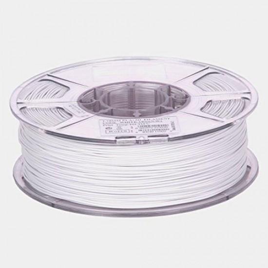 1.75mm cold white PLA filament eSun