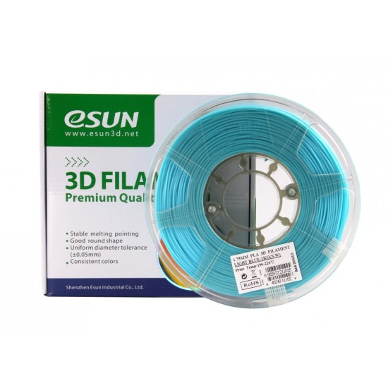 1.75mm sky blue PLA filament AdWire Premium