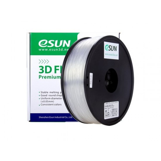 1.75mm transparant PLA filament eSun