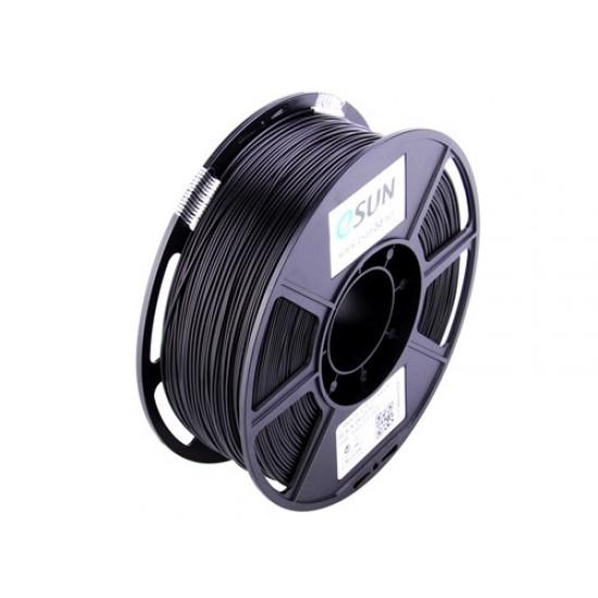 1.75mm solid black PETG filament