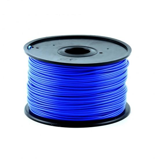 3mm blauw ABS filament f&m