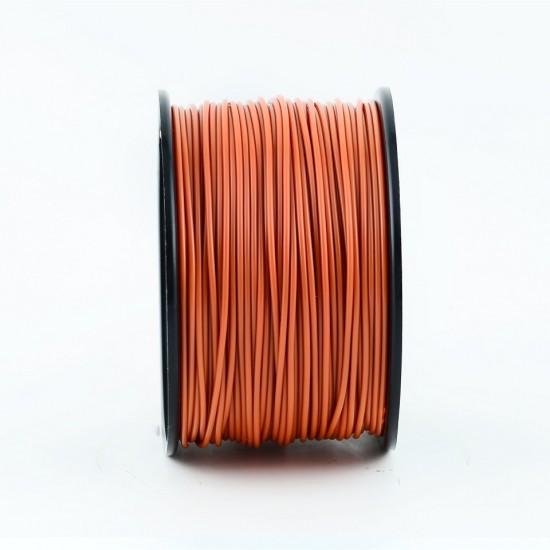 3.0mm dark orange ABS filament