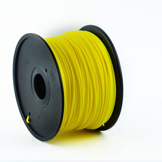 3.0mm dark yellow ABS filament