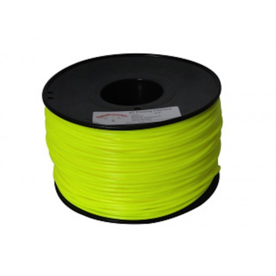 3.0mm yellow ABS filament