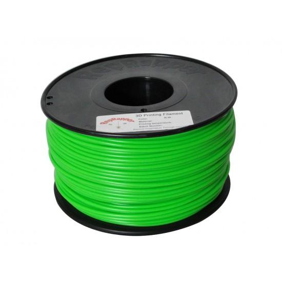 3.0mm green ABS filament