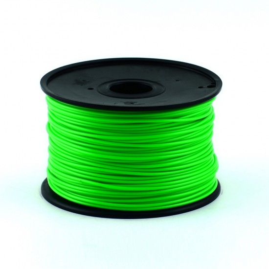 3.0mm lime green ABS filament