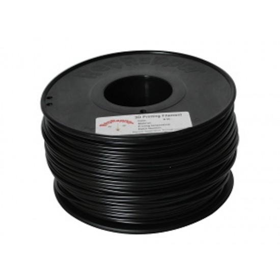 3.0mm black ABS filament