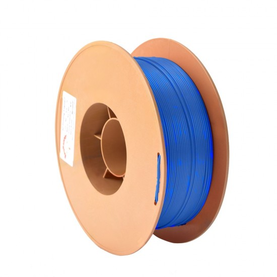 3mm fluorescent blue ABS filament