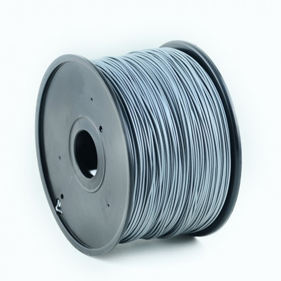 3.0mm shiny grey ABS filament f&m