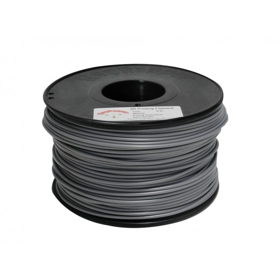 3.0mm shiny grey ABS filament