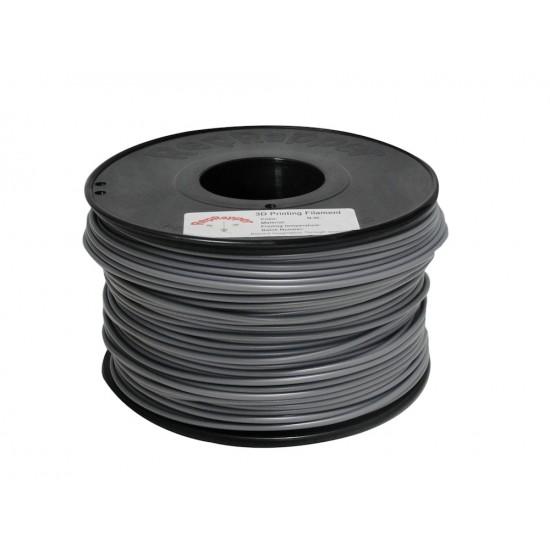 3.0mm shiny grey ABS filament